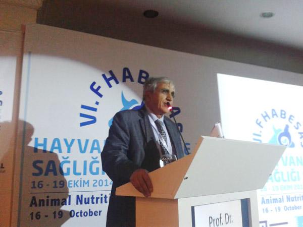 Türk Veteriner Hekimler Derneği Başkanı Prof.Dr,Şakir Doğan Tuncer