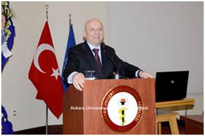 Prof. Dr. Erkan İbiş / Ankara niversitesi Rektörü