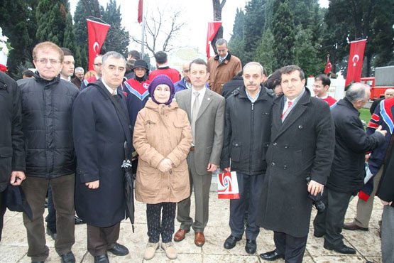 Mehmet Akif Ersoy'un Torunu Selma Argon İpek  ile birlikte