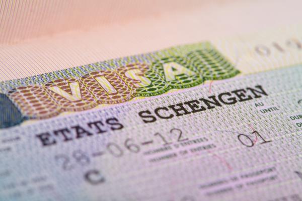 visa in the passport