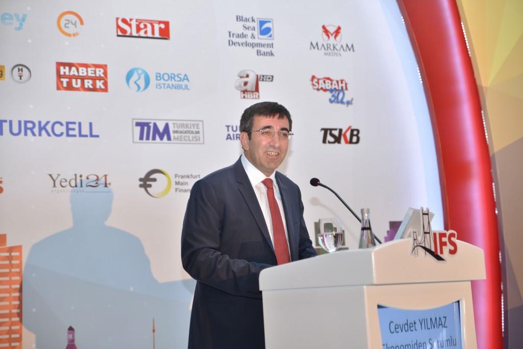 Başbakan Yardımcısı Cevdet Yılmaz IFS 2015
