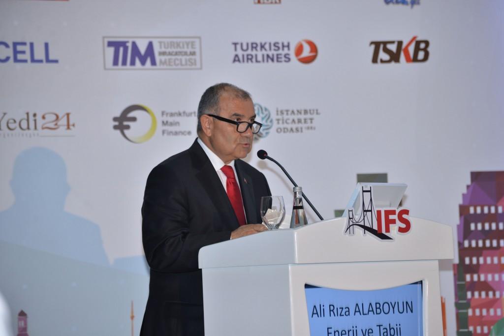 Enerji ve Tabi Kaynaklar Bakanı Ali Rıza Alaboyun