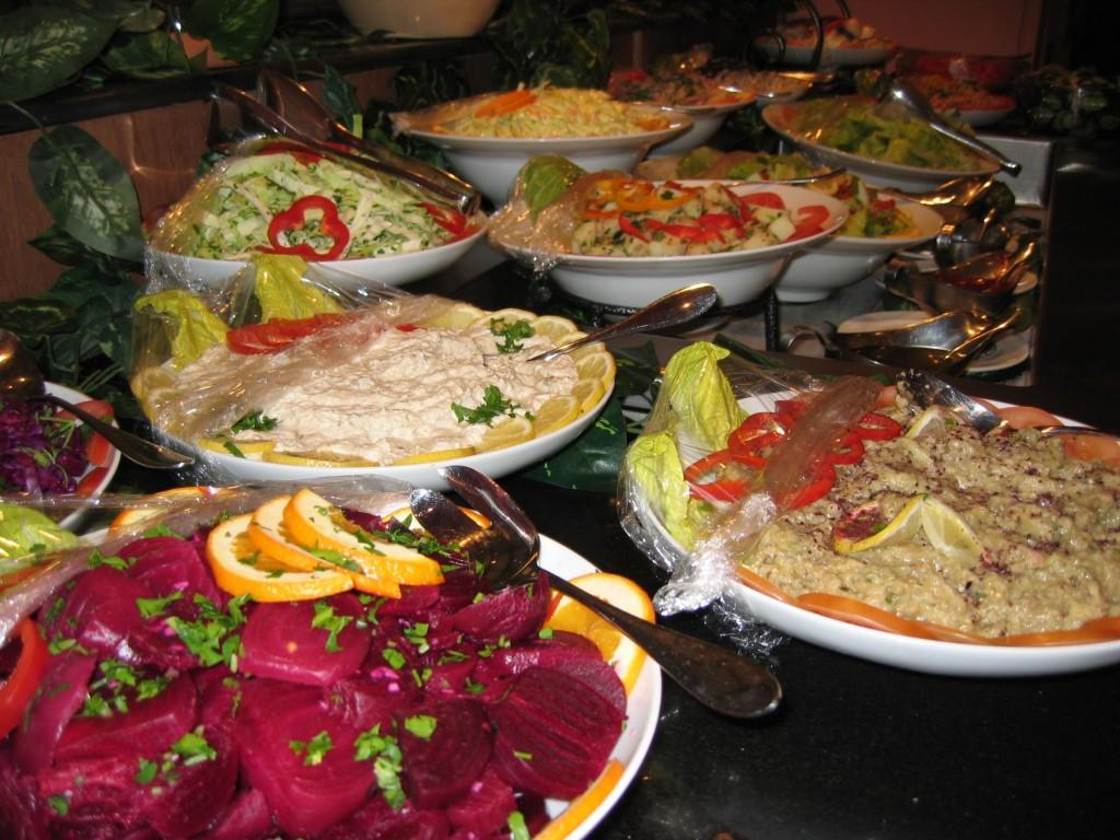 salat ve humus