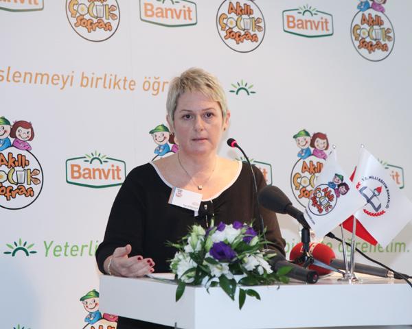 Banvit A.Ş. Kurumsal Gelişim ve İletişim Direktörü İlgi Görener,