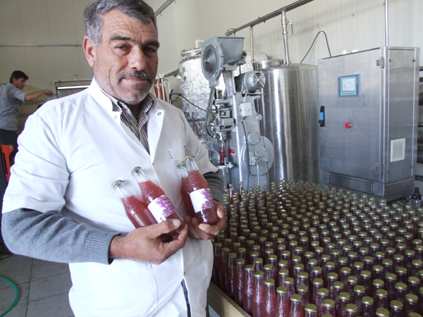 S.S.Mursallı  Köyü Tarımsal Kalkınma Koop. Başkanı Nihat Balkan