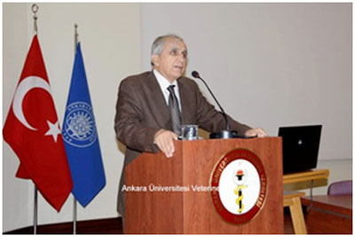 Veteriner Hekimler Derneği Genel Başkanı Prof.Dr.Şakir Doğan Tuncer