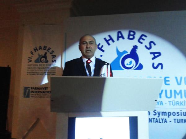 Farmavet Y.K.Başkanı Ercan Petekkaya
