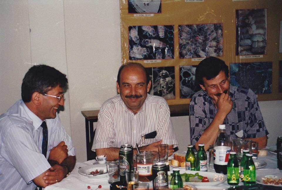 Halil Egemen Köytür kuruluşunda birlikte çalıştığı Celalettin Tümer ile birlikte