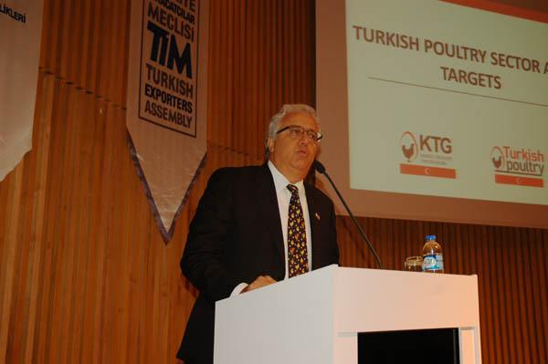İstanbul İhracatçılar Birliği Yönetim Kurulu Üyesi ve Kanatlı Tanıtım Grubu Başkanı Müjdat Sezer,