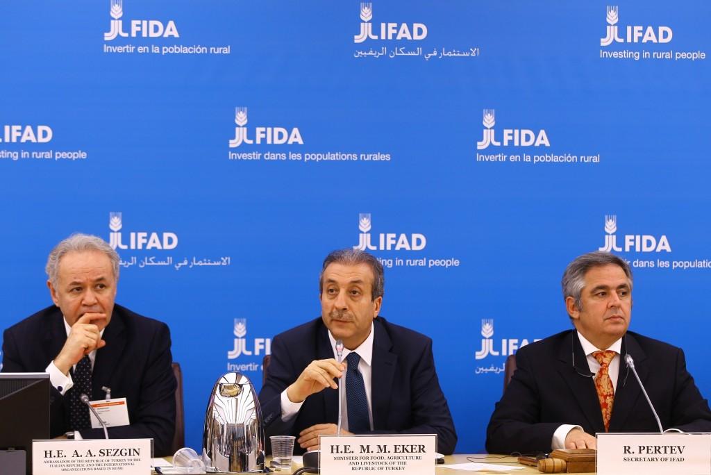 Gıda, Tarım ve Hayvancılık Bakanı Mehdi Eker, Roma'da
