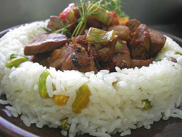 Yahnili  pilav(Osmanlı yemeği)