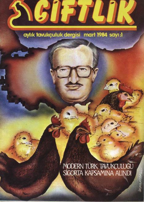 İlk Tavukçuluk yayın organı Çiftlik'in ilk sayısı