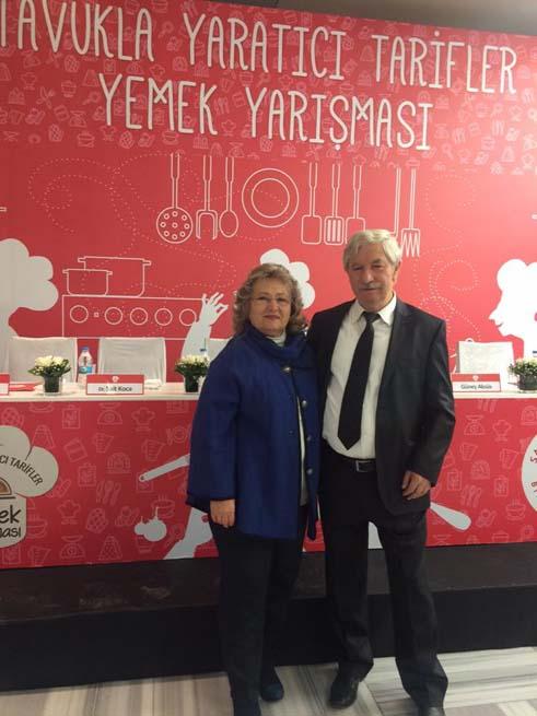 Besd-Bir Başkanı Dr.Sait Koca ve eşi Ayten Koca