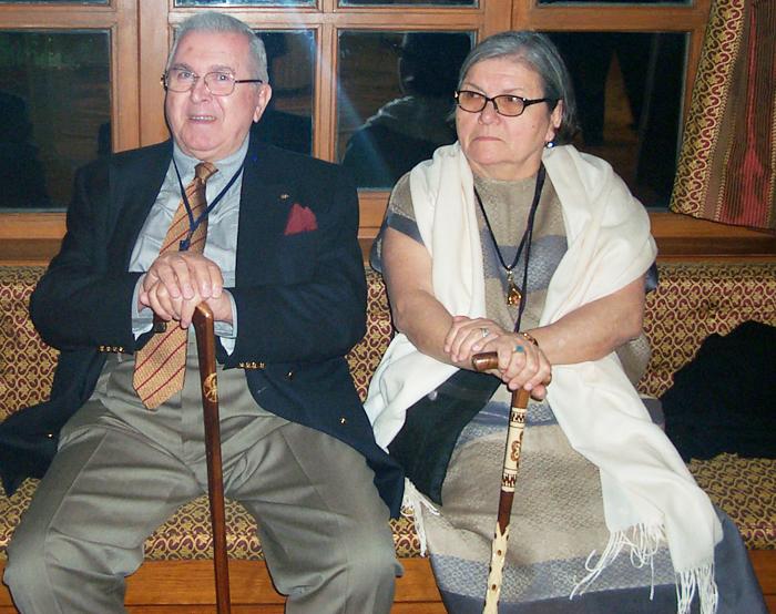 Banvit A.Ş. Kurucusu Vural Görener ve eşi Gülgün Görener