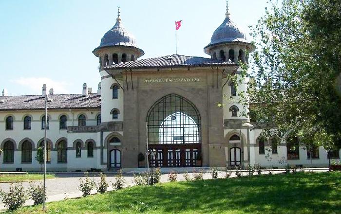 Bugün Üniversite Olan Karaağaç'taki Eski Edirne İstasyonu-Ön Cephe