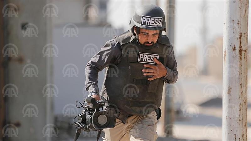 KERKÜK (AA) - Irak'ın Kerkük şehrinde görev yapan Anadolu Ajansı (AA) ekibi silahlı saldırıya uğradı. ( Anadolu Ajansı - Melda Altakhan )