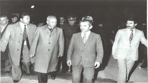 Mehmet Tanrıkulu ve Dr.Sait Koca devrin Başbakanı Bülent Ulusu ile açılışta