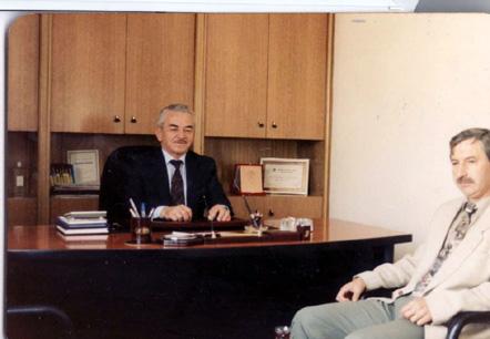 Mehmet Tanrıkulu ve Dr.Sait Koca Beyyem Beypazarı (Çiftlik Dergisi arşivi)