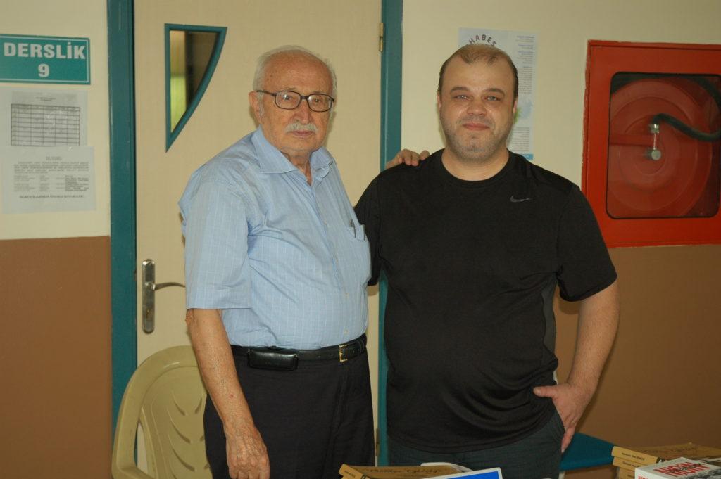 Genel Yayın Müdürümüz Serdar Konuralp Hanri Benazus ile