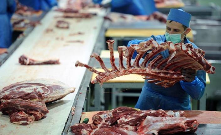 Belarus'ta bir et işleme tesisi